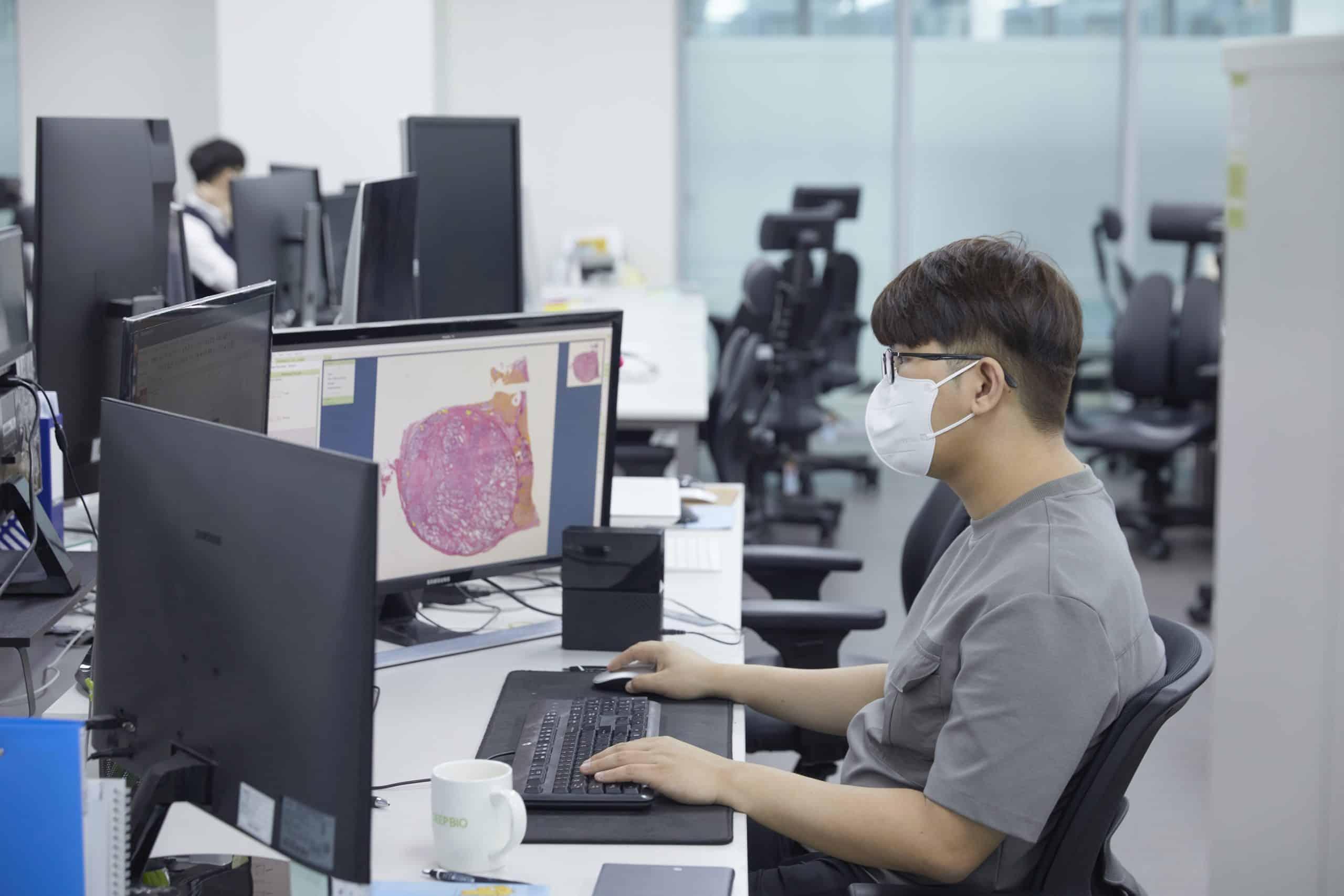deep bio AI digital pathology